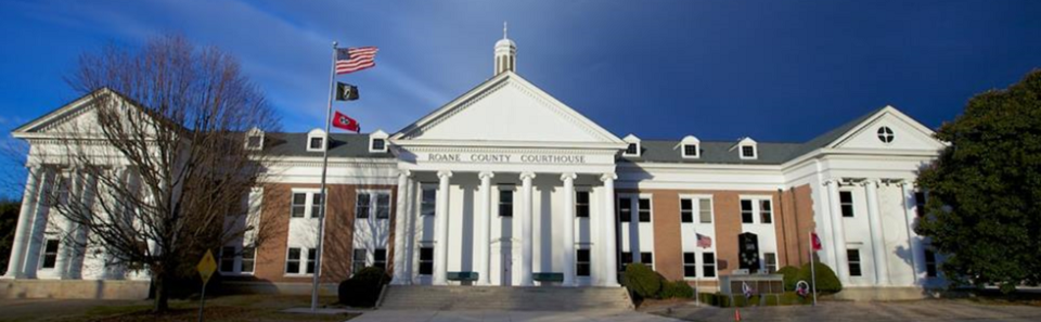 Roane County Courthouse  - Kingston, TN